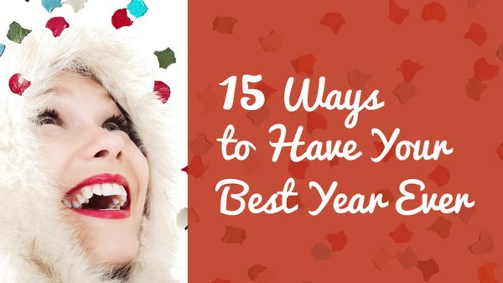 15 Ways To Have Your Best Year Ever Slide Deck