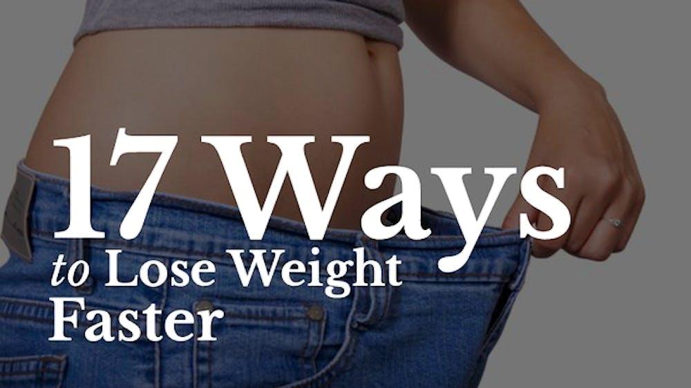 17 Ways To Lose Weight Faster Slide Deck