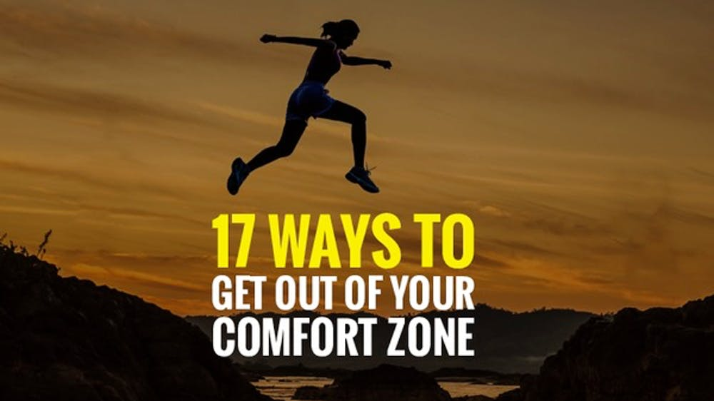 17 Ways To Get Out Of Your Comfort Zone Slide Deck