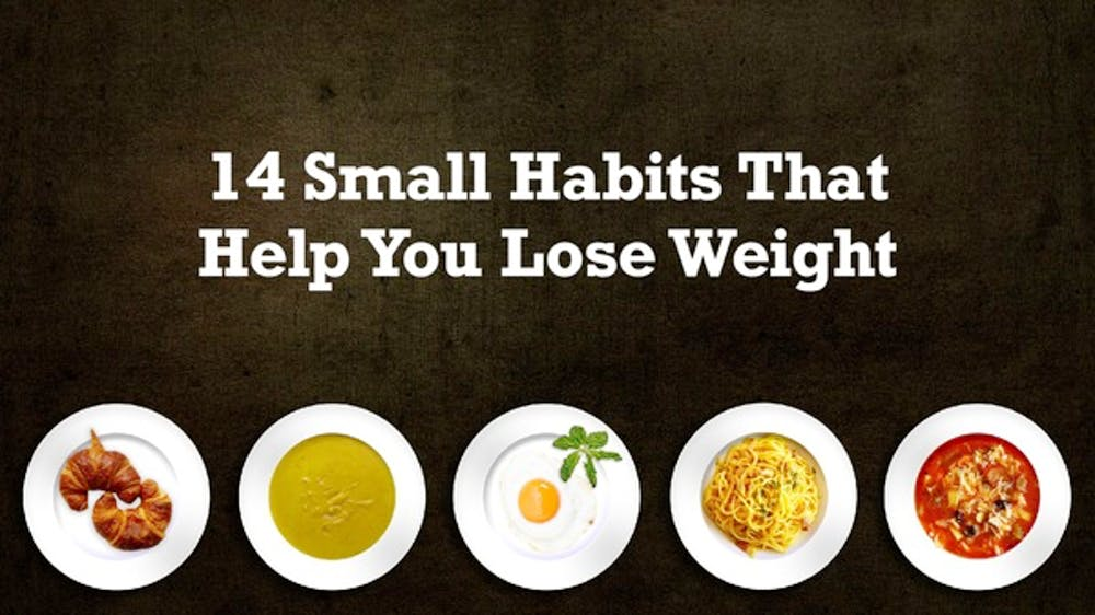 14 Small Habits That Help You Lose Weight Slide Deck