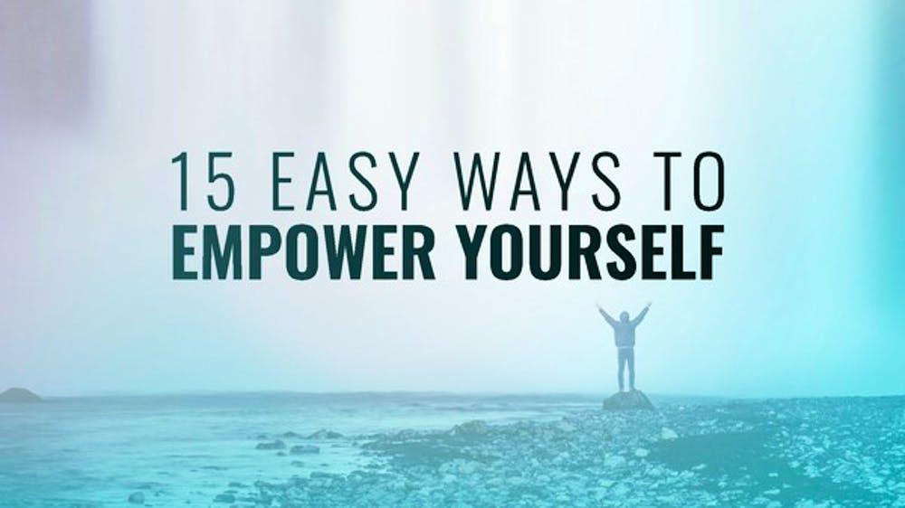 15 Easy Ways To Empower Yourself Slide Deck