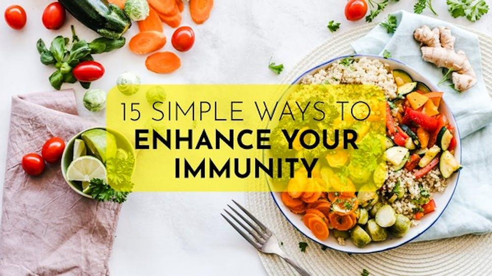 15 Simple Ways To Enhance Your Immunity - Slide Deck