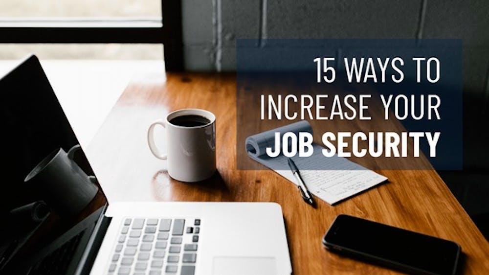 15 Ways To Increase Your Job Security Slide Deck