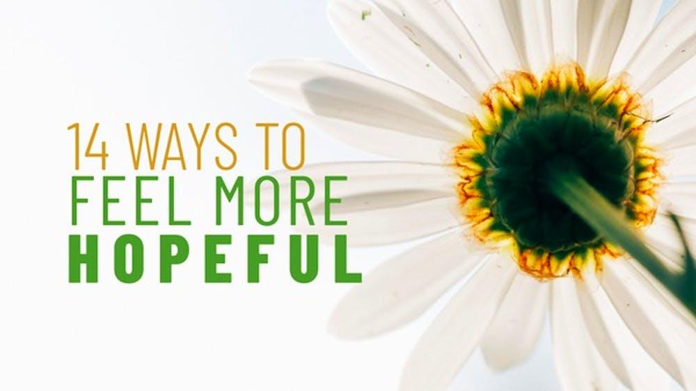 14 Ways To Feel More Hopeful Slide Deck