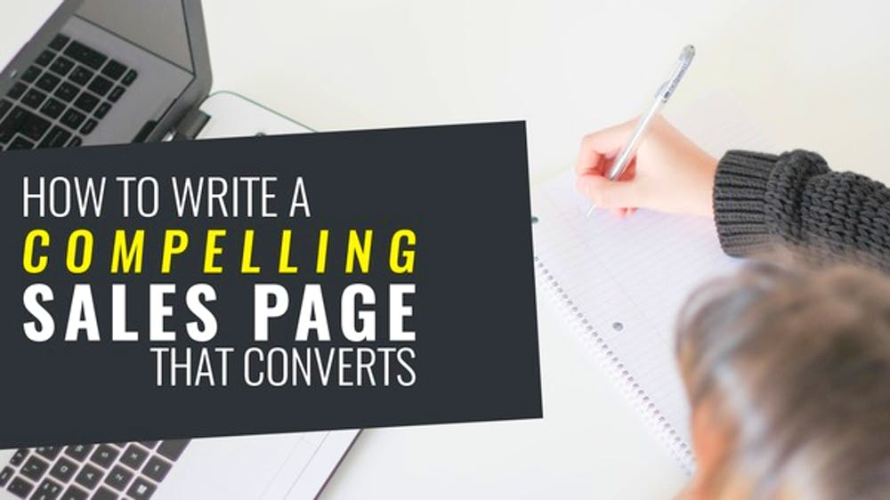 How To Write A Compelling Sales Page - Slide Deck