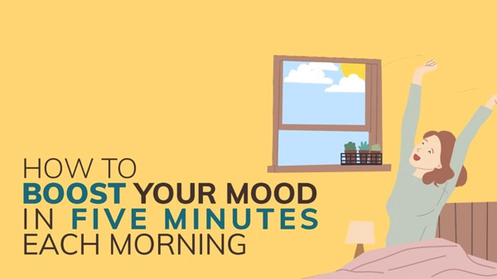 How To Boost Your Mood In Five Minutes Each Morning - Slide Deck